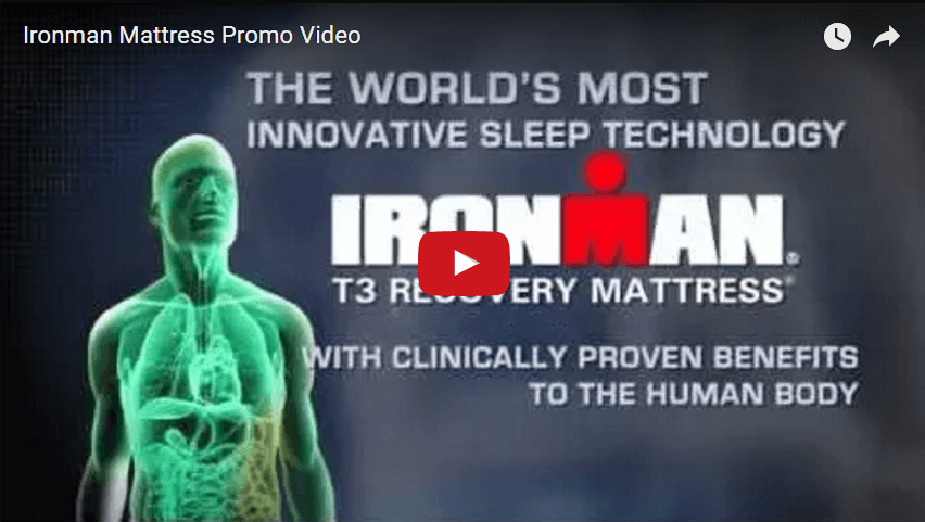 Ironman Recovery Mattress Intro Video
