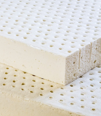 Talalay latex sponge layer