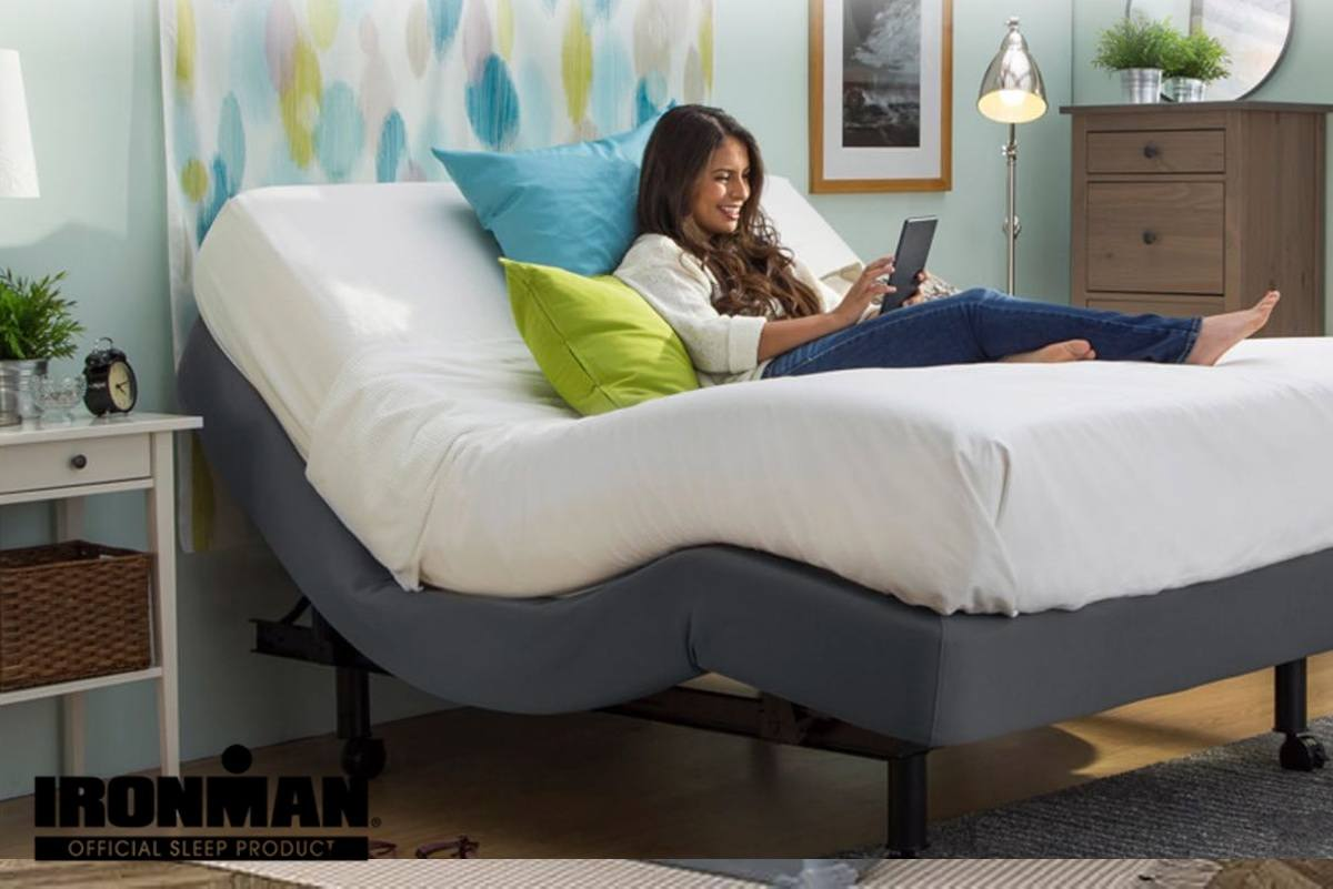 Adjustable Beds With Zero Gravity Position Pure Energy Ironman Mattress